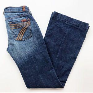 7 For All Mankind Dojo Flare Trouser Jeans Sevens